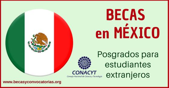 Becas en México para extranjeros