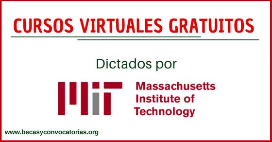 Cursos online MIT gratis