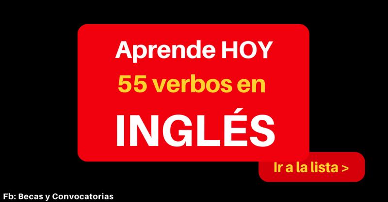 Lista de verbos irregulares en inglés para practicar para el TOEFL y IELTS