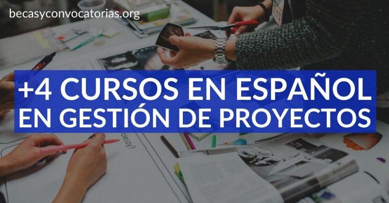 cursos gestion proyectos español