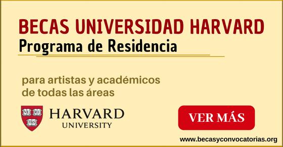 Becas en Harvard