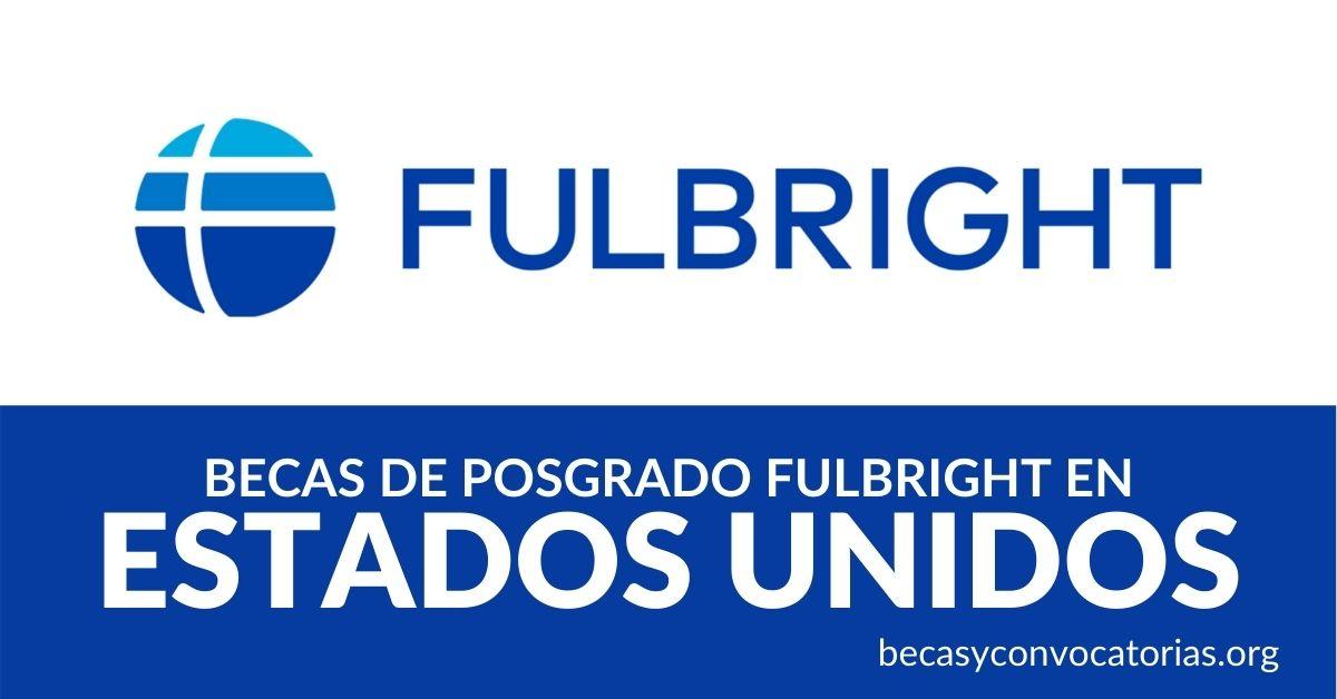 becas fulbright estados unidos