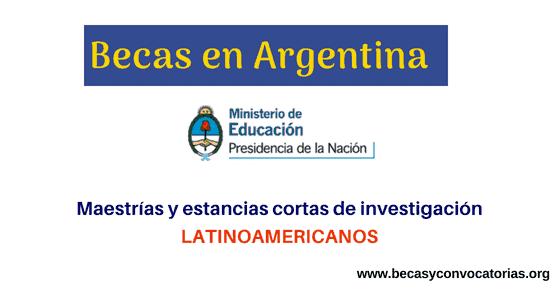 Becas en Argentina para latinoamericanos