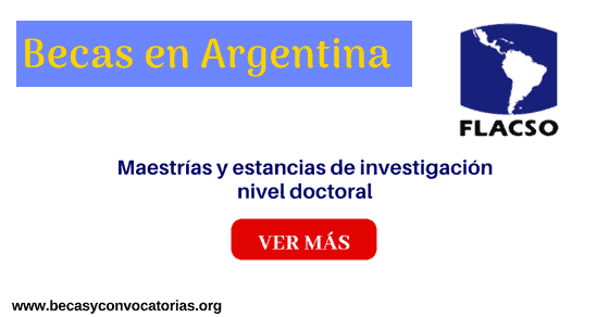becas y maestrías Argentina