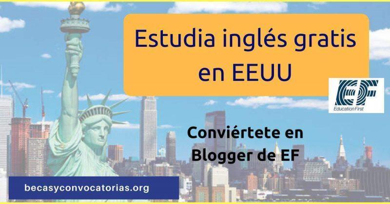 concurso EF inglés en EEUUU