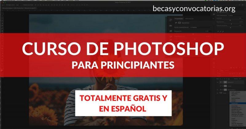 Inscríbete en el curso online de Adobe Photoshop ¡Totalmente gratis!