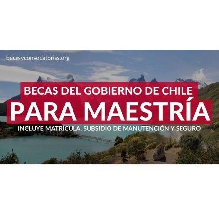 becas maestria chile