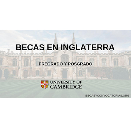 cambridge university becas