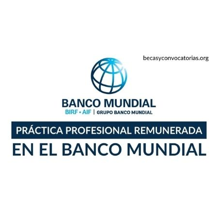 banco mundial practicas profesionales