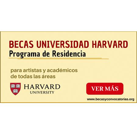 universidad de harvard becas para extranjeros