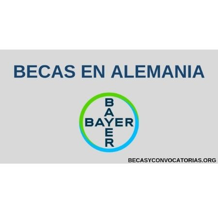 becas bayer alemania