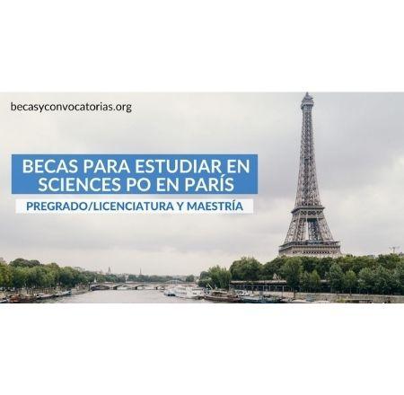 becas pregrado maestría Francia