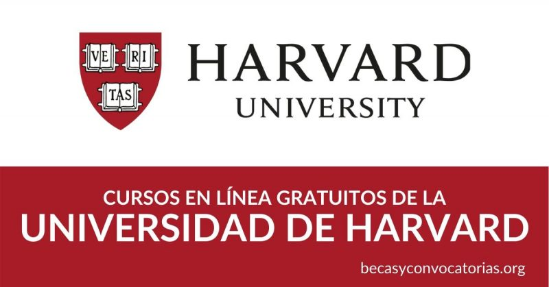 Inscribete a los cursos gratuitos de la Universidad de Harvard