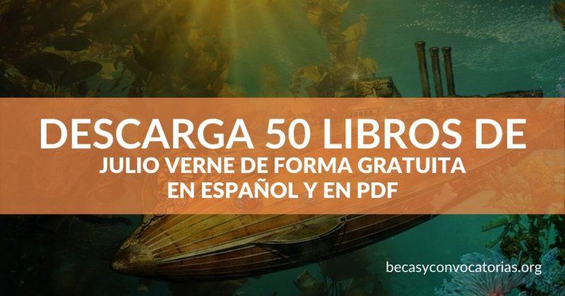 Los mejores 50 libros para descargar de Julio Verne de forma gratuita (PDF)