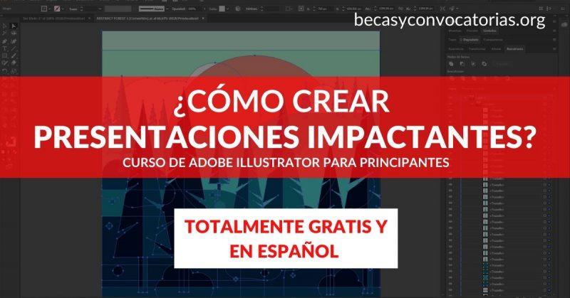 Descubre como crear presentaciones con Adobe Illustrator en este curso en línea ¡Totalmente gratis!