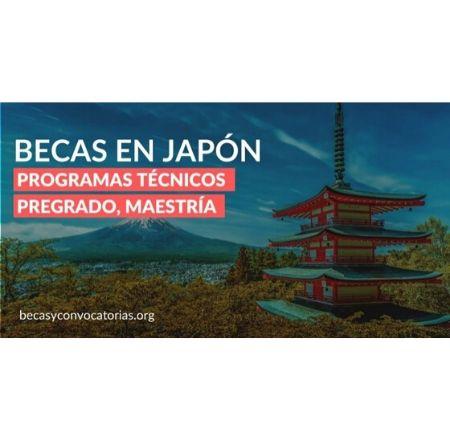 becas para programas tecnicos en japon