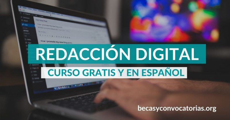 Curso introductorio sobre redacción digital ¡Totalmente gratis y en español!