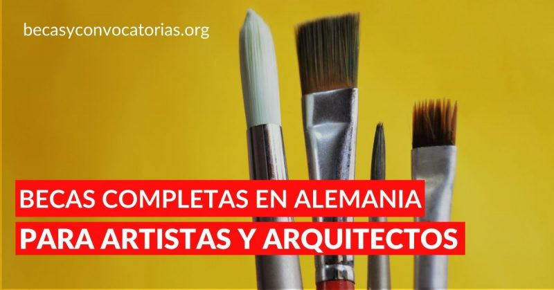 DAAD Becas de postgrado para artistas y arquitectos en Alemania