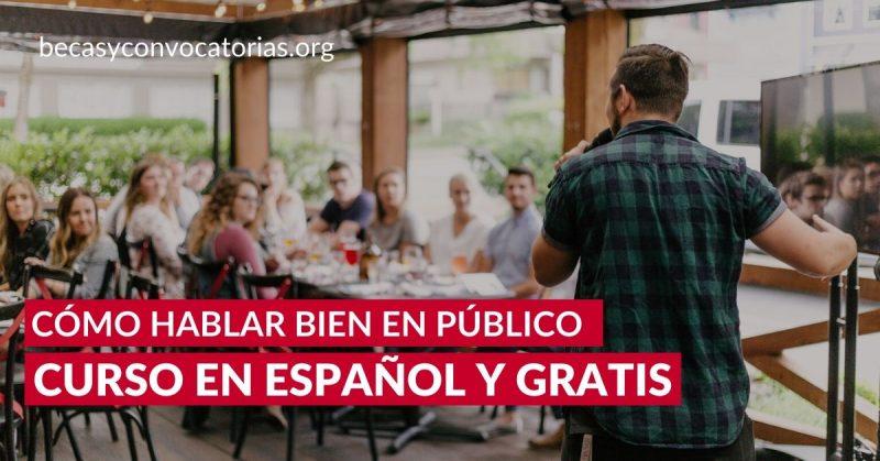 Cómo hablar bien en público Curso gratis de la Universidad Autónoma de Barcelona