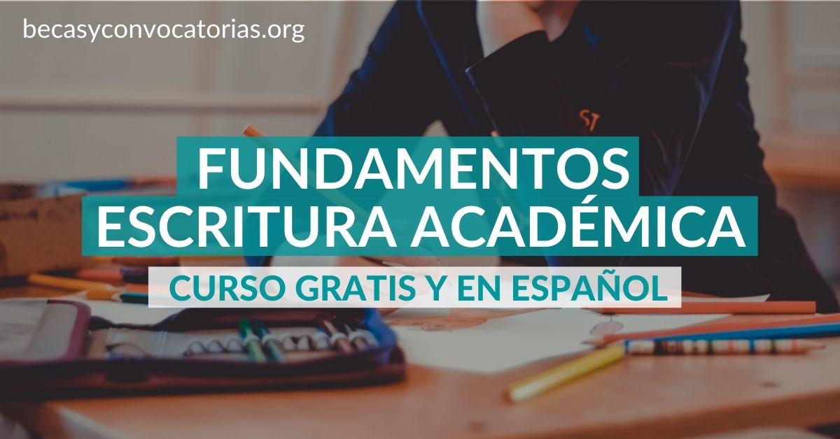 Curso de la UNAM sobre los fundamentos de la escritura académica