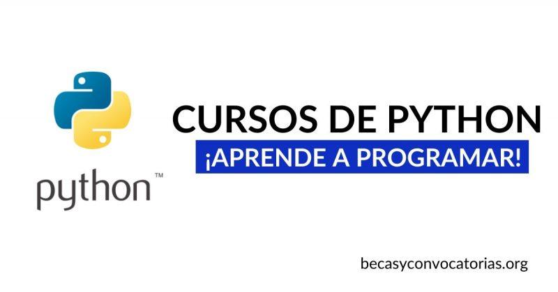 Cursos gratis sobre programación en Python para hacer desde tu casa