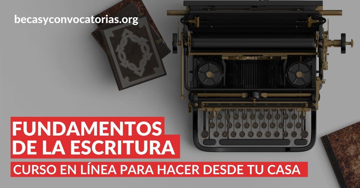 Fundamentos de la escritura Curso en línea del Tecnológico de Monterrey
