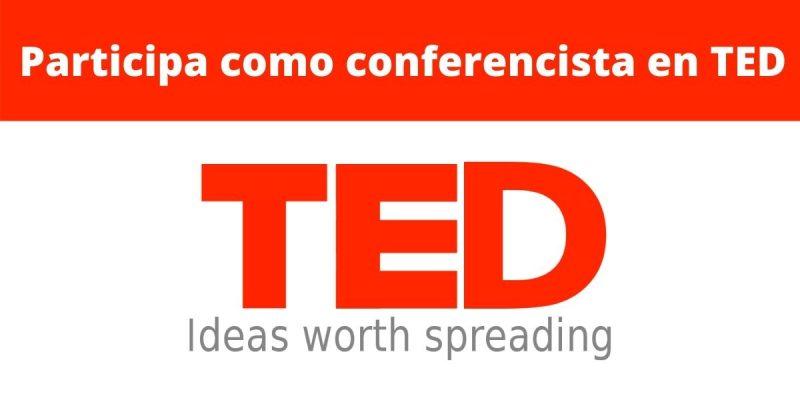 como participar en una charla ted