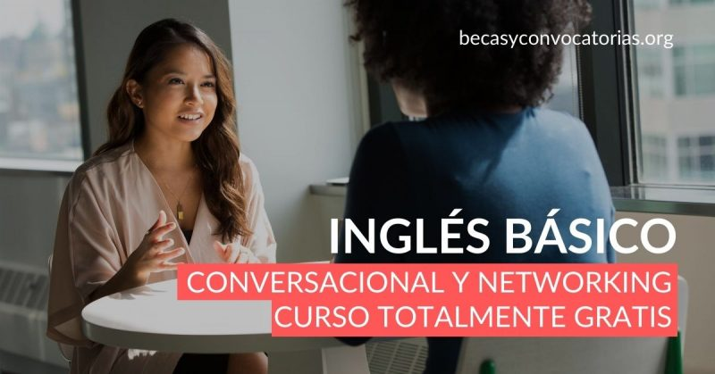 Inglés básico Curso conversacional y de networking
