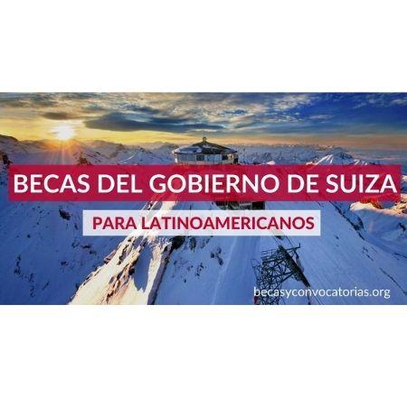 becas de posgrado en investigacion y artisticas en suiza