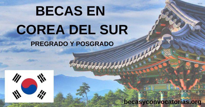 becas para estudiar en corea del sur 2021