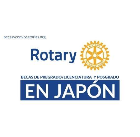 becas rotary japon pregrado licenciatura posgrado