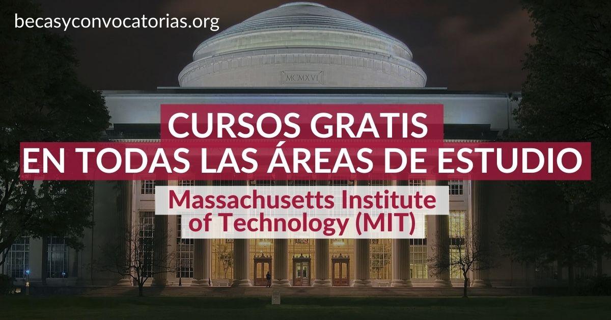 cursos online gratis MIT