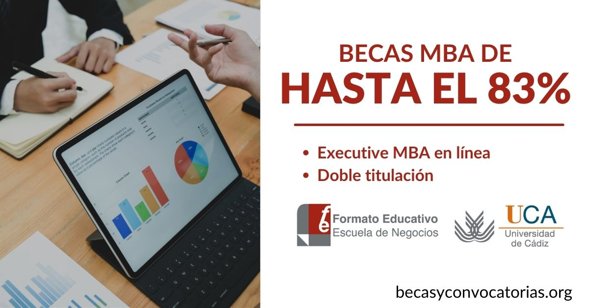 becas MBA formato educativo