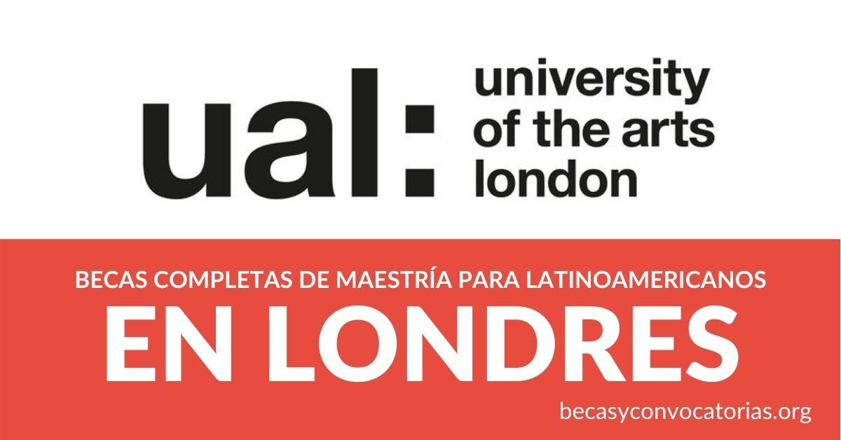becas maestría artes Londres