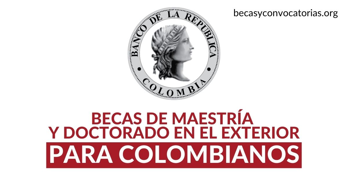 becas posgrado banco republica