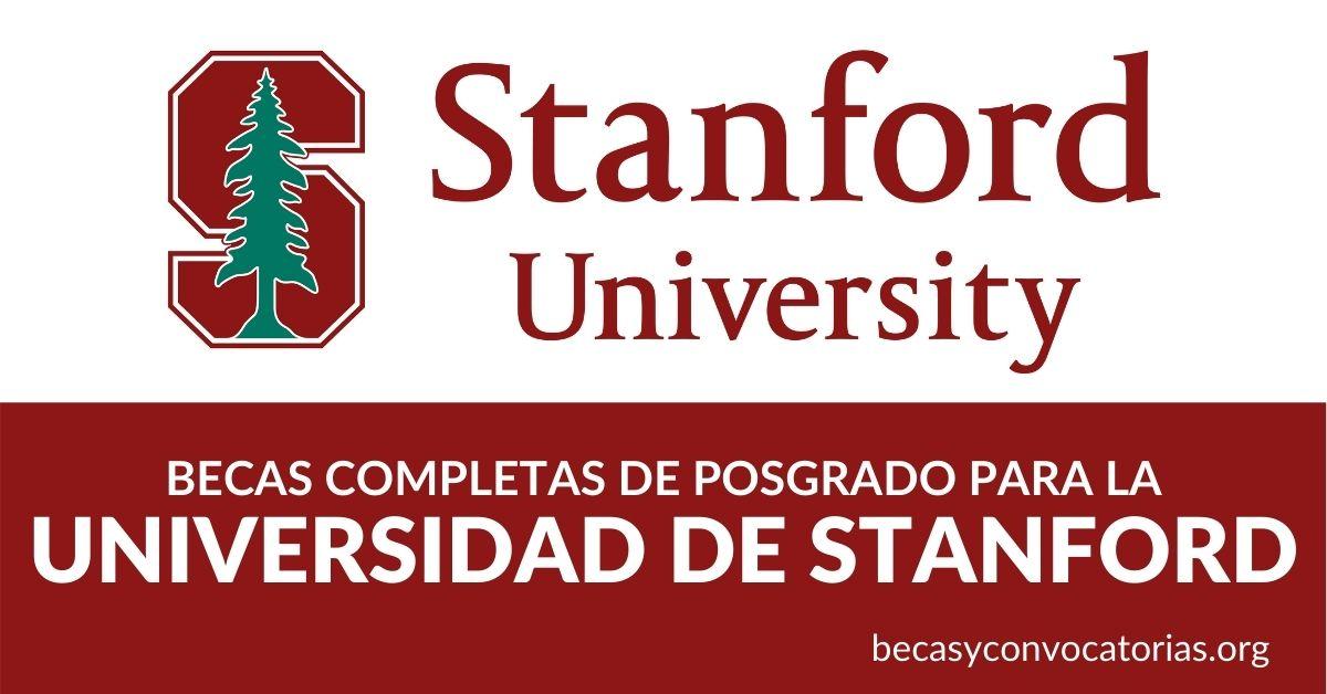 becas posgrado universidad stanford