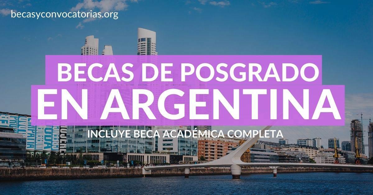 becas argentina latinoamericanos